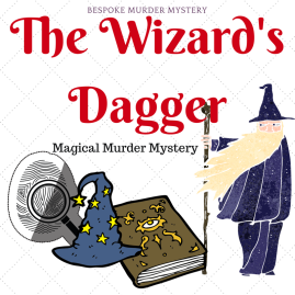 The Wizard's Dagger Jippity Umlot is the world's leading authority on wizardry, and he has been found murdered with his own dagger on the night before he is due to be awarded the community's most prestigious award, the Golden Feather. Join the leading figures from the world of wizards and witches to solve this murder mystery and discover who wanted him dead?