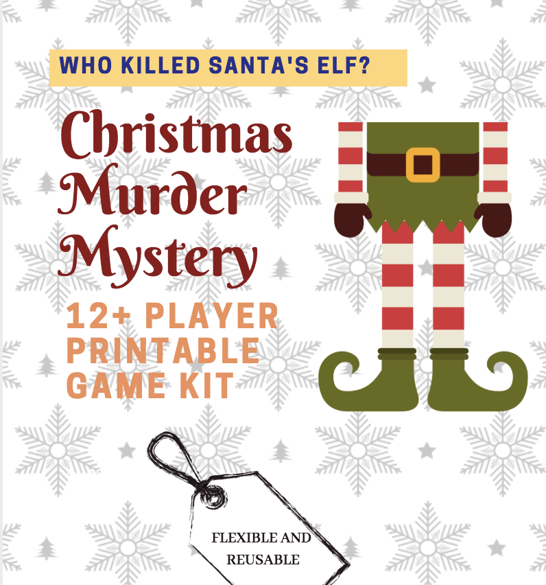 Christmas murder mystery game